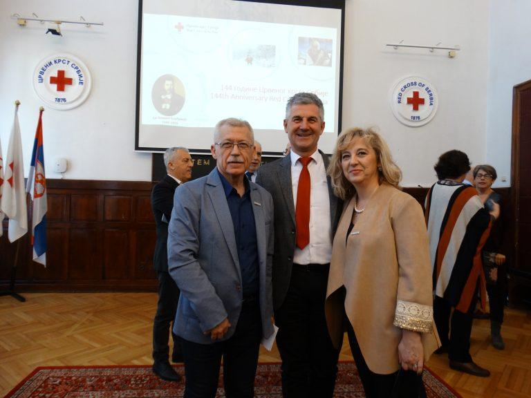 Obeležavanje 143 godine Crvenog krsta Srbije
