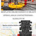 Besplatni online kursevi iz oblasti upravljanja u katastrofama