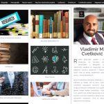 Novi sajt sa besplatnim naučnim radovima dr Vladimira M. Cvetkovića, Fakultet bezbednosti, Univerzitet u Beogradu