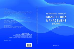 International Journal of Disaster Risk Management, Vol. 3, No. 1 – Novi broj časopisa